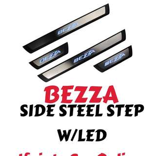 SIDE STEEL STEP W/LED - BEZZA