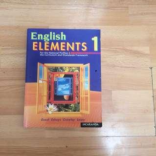 English elements 1