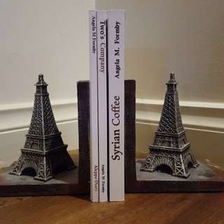 Eiffel Tower Book Ends