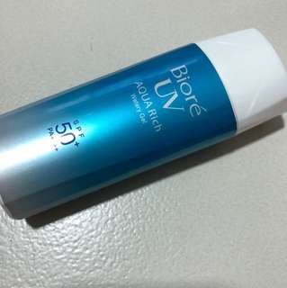 Biore uv watery gel