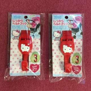 Hello Kitty Belt Hook for Stroller (2 pcs)