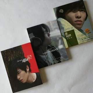 Jam Hsiao 萧敬腾 albums x 3