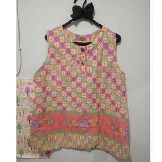 atasan  blouse baju batik