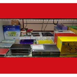 "[Pre-Loved] ""NEW"" 3DSXL / OLD 3DSXL Nintendo Consoles"