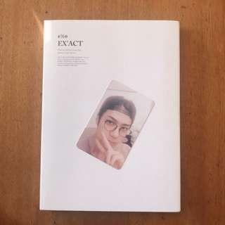 EXO EX'ACT Album (Lucky One - Korean Ver.) with Sehun PC