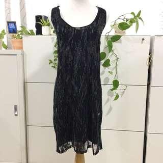 Sequins Dress M-L