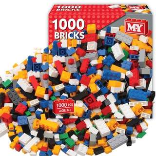 1000pcs Compatible Building Blocks Set N01050