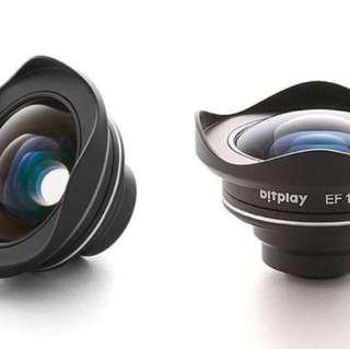 Bitplay HD廣角鏡頭與扣夾與7+相機殼