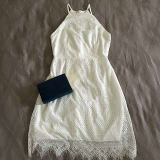 NYLA BASIC WHITE DRESS