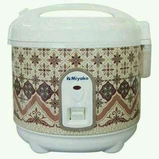 Rice cooker miyako mini edisi batik