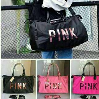 Pink by Victoria's Secret Travel Bag (High End Replica)
