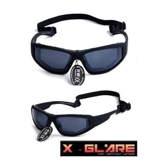 😎🌞Foam Padded Bikers Sunglasses🌞😎 -  X-Glare HD