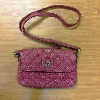 Marc Jacob Python Stardust Sling/Clutch Bag