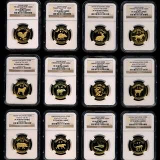 新加坡金币(1981-1992)年.NGC-PF70