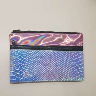 Typo Pencil Case Holographic