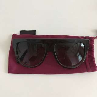 Sunglassspot celine look-alike black/tortoise shell sunglasses