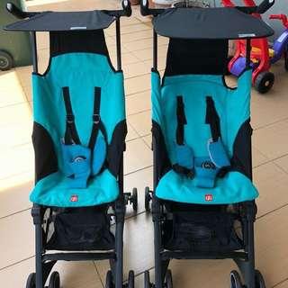 Travel stroller pockit gb / pockit gb plus for rent / sewa