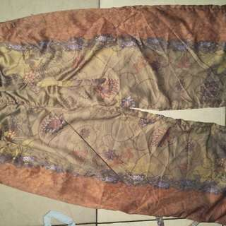 Celana kulot allsize (free daster (sambungan))
