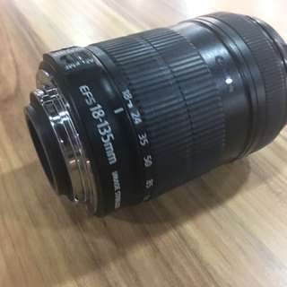 Canon lens 18-135mm