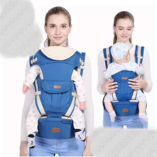 BABY SOFT CARRIER (BLUE/RED)
