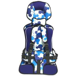 BABY CAR SEAT (BLUE/PINK) - 2 YEARS TO 12 YEARS