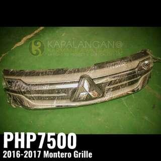 Mitsubishi Montero grille