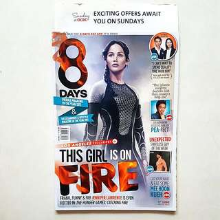 Jennifer Lawrence / Hunger Games - An 8days Covers Collection