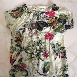 Printed Top Brand New With Tag