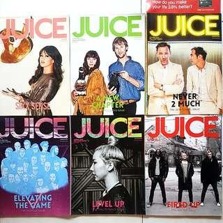 JUICE Magazines - 2012 - 2015