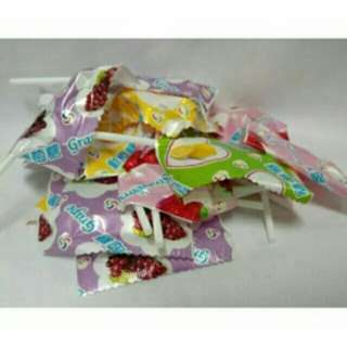 🚚 🎆 歡喜過好年       🎊 水果棒棒糖 口味可指定   🎉 10 支 $ 30