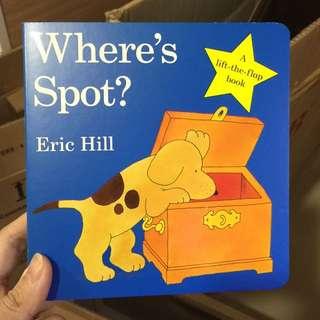 Where's Spot Children Book
