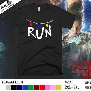 Stranger Things - RUN Shirt