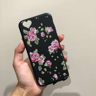 Rose rubber iPhone case (6/6S)