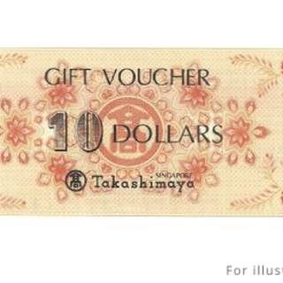 Takashimaya Vouchers ($250 Worth for $235)