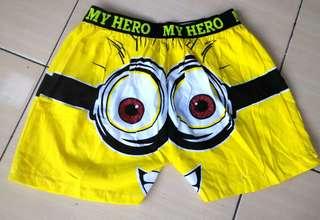 Celana pendek karakter tersedia berbagai macam karakter unik cek koleksi lainnya