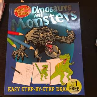 How to draw dinosaurs and monsters