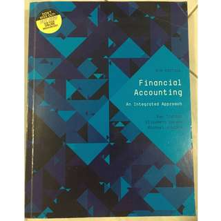 Financial Accounting: An Integrated Approach 6th Edition Textbook