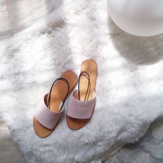 50% OFF - REAL SUEDE  SANDALS