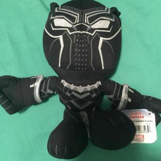 "Disney 7"" Marvel Avengers Plush Black Panther"