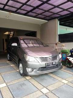 Innova 2012 V luxury matic bensin