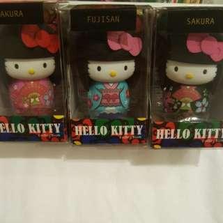 Hello Kitty Fujisan & Sakura Trio Key Chains