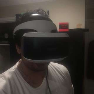 PS4 VR, camera and games