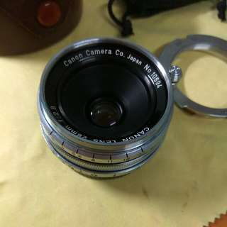 Canon 28mm Ltm For Leica M
