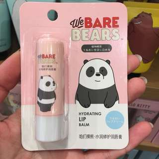 We Bare Bears lip balm