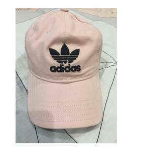 Adidas Pink trefoil cap