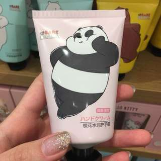 We Bare Bears hand cream