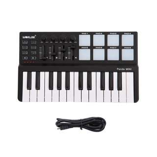 MIDI Keyboard 25 keys WORLDE PANDA MINI