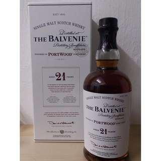 The Balvenie 21 yo Port Wood Whisky百富21年波特桶單一纯麥威士忌