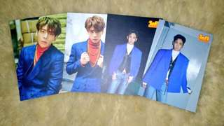 SHINee 1of1 Official Postcard Set