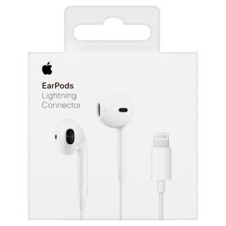 $20.99 AUTHENTIC Apple Earpods with Lightning Connector For ios earphone iPhone earphone lightning earpiece